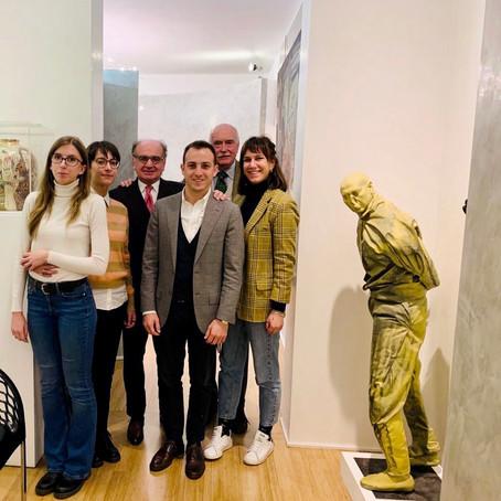 L'arte e il diritto: i masterini incontrano nel suo studio l'avvocato Giuseppe Iannaccone