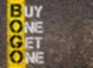 Concept image of Business Acronym BOGO a