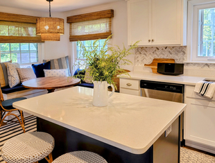 Kitchen with Banquette Seating