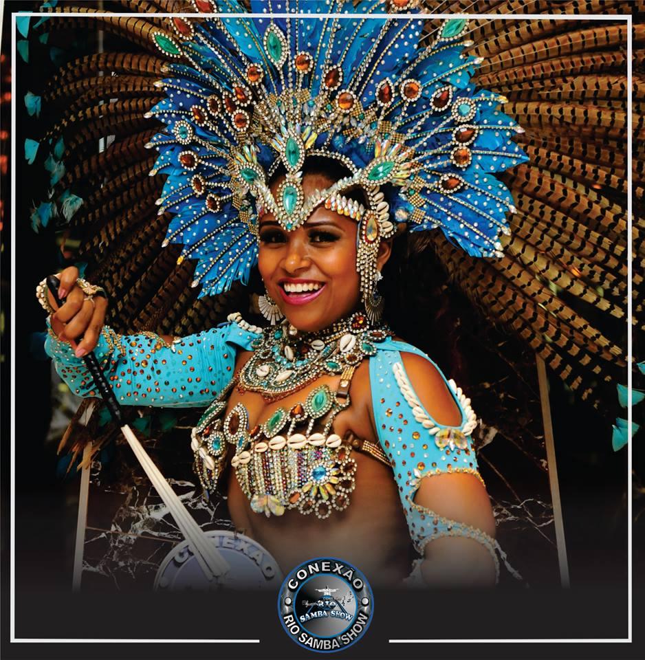 Show de bateria de escola de samba