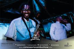 Sax em show de samba