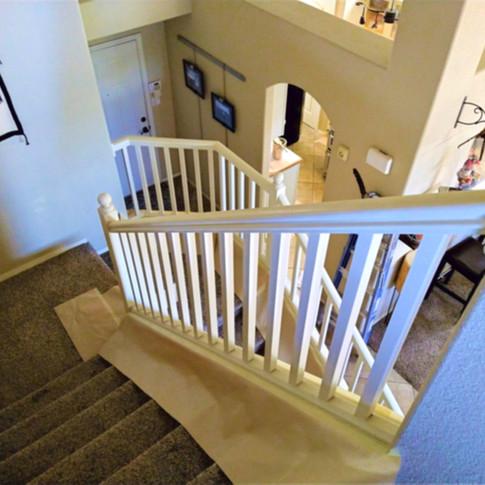 Before Handrail Painting