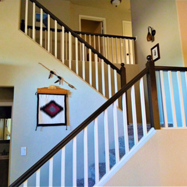After Handrail Painting