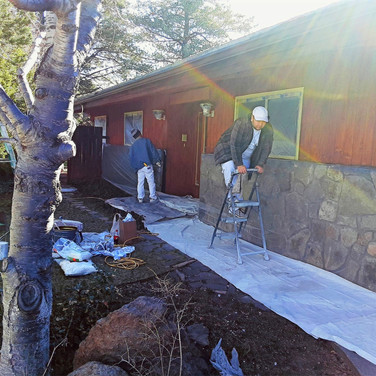 Exterior Staining