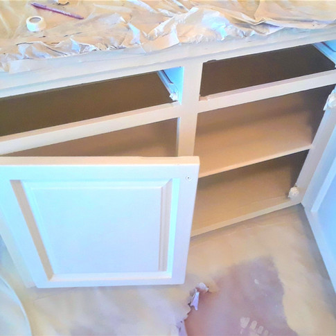 After Cabinet Painting