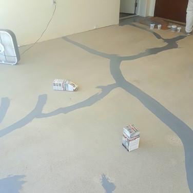 Before Epoxy Floor