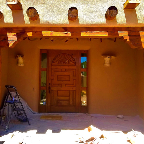 After Exterior Stain