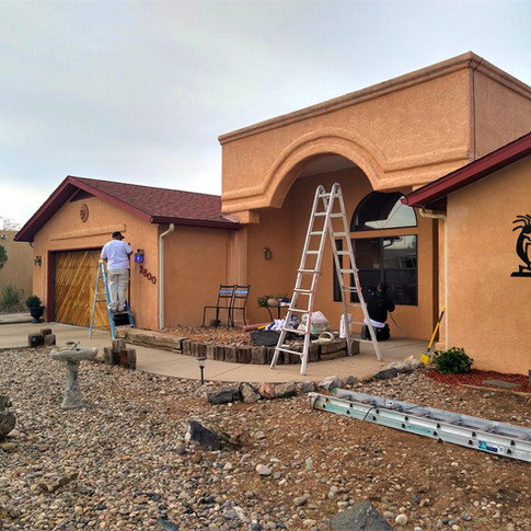 Before Exterior Painting (Rio Rancho)