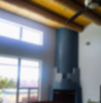 An after image of our residential interior painting in Santa Fe, NM