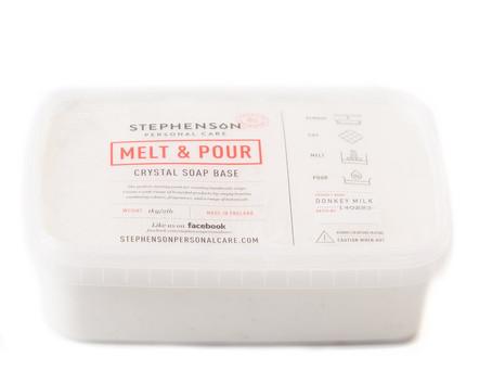 New Product! Melt and Pour Soap Base - Donkey MilkSLS FREE