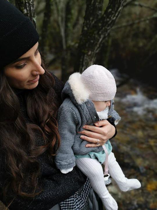Mom and baby vegetarian travel blog
