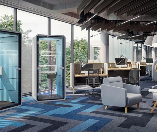 Hushphone Office Installation