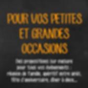 Traiteur événements personnel 2 à 200 personnes Sotteville les Rouen