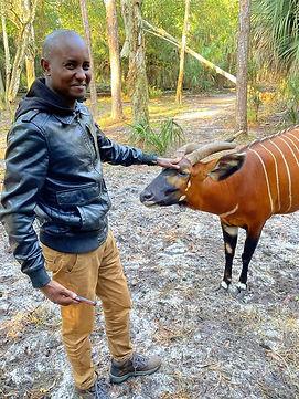 Dr. Matthew Mutinda, KWS veterinarian