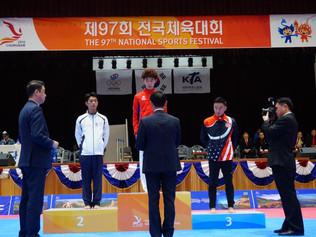 Master Johnny takes BRONZE at Korean Olympics!