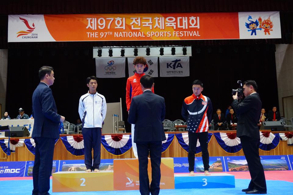 Master Johnny represented Team USA at the 2016 Korean National Sports Festival and earned the BRONZE medal!