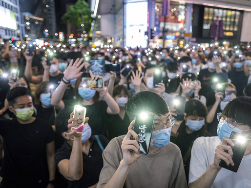 Kể chuyện về những cuộc biểu tình ở Mỹ và Hồng Kông