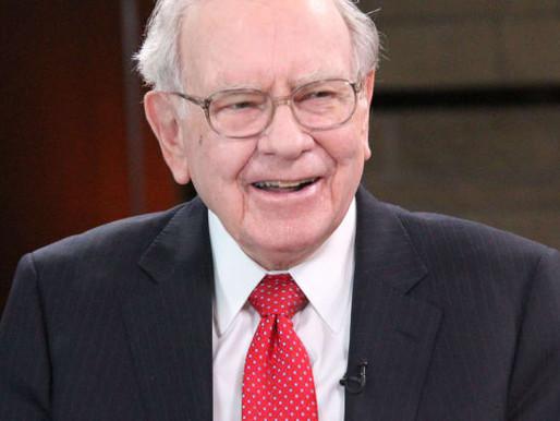Warren Buffett nói về cuộc sống, sự may mắn và về việc thắng cuộc 'Xổ số buồng trứng'