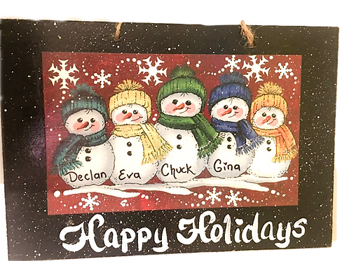 5 Snowman