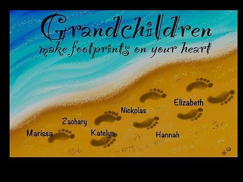 Grandchildren Footprints