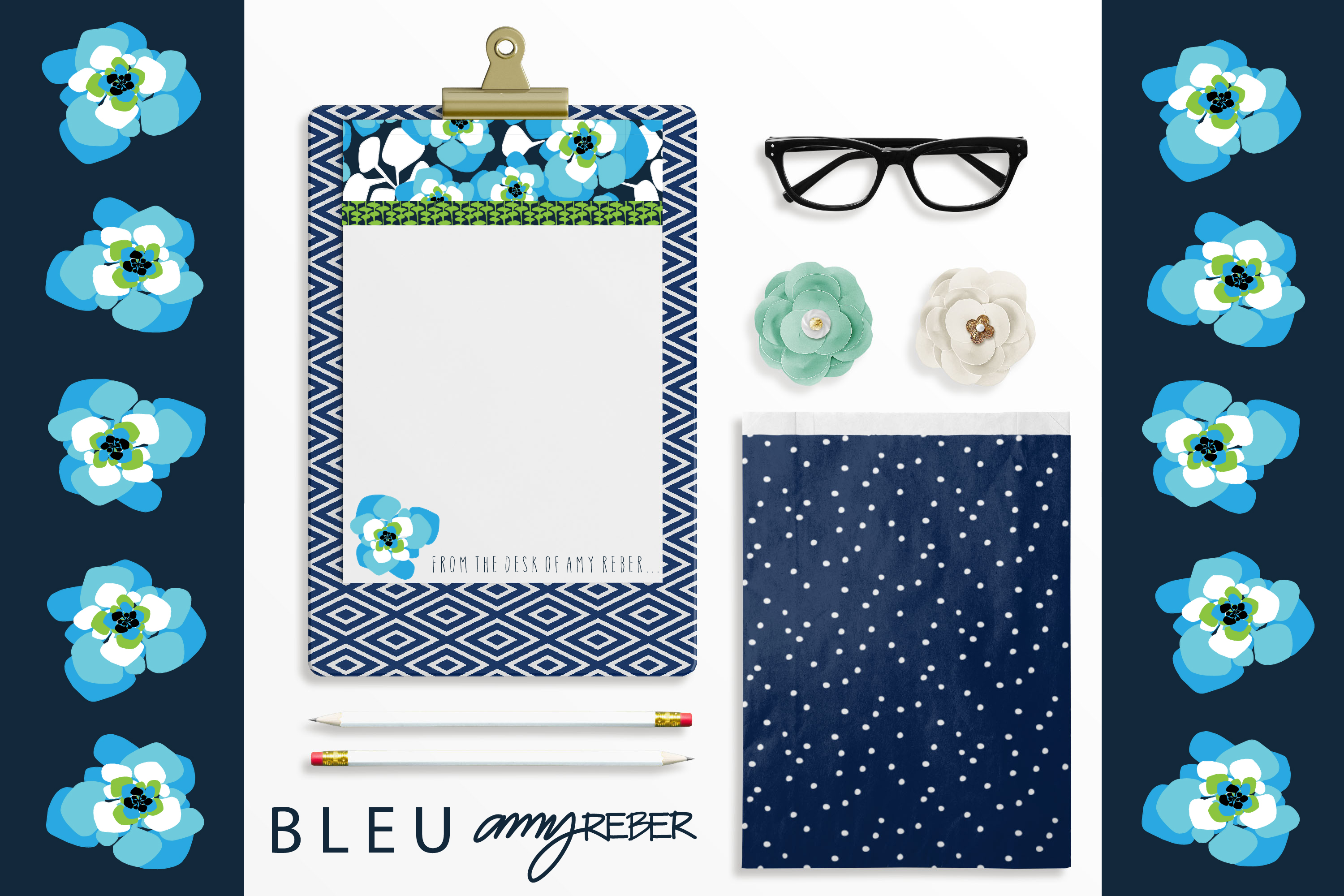 BLEU CLIPGOARD NOTES
