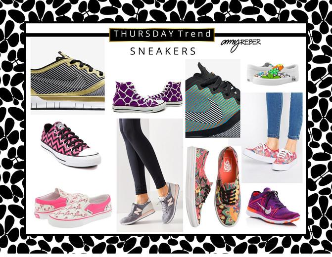 THURSDAY TREND - Sneakers!