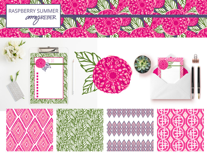 COLLECTION of the WEEK - RASPBERRY SUMMER