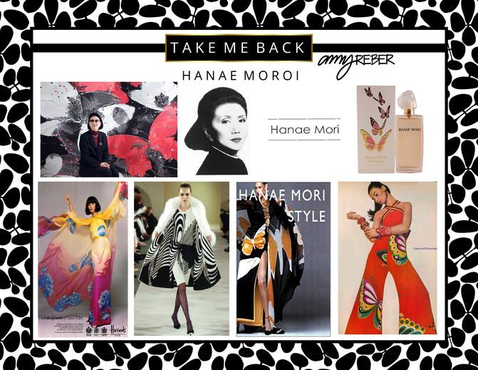 TAKE ME BACK Tuesday - Hanae Mori