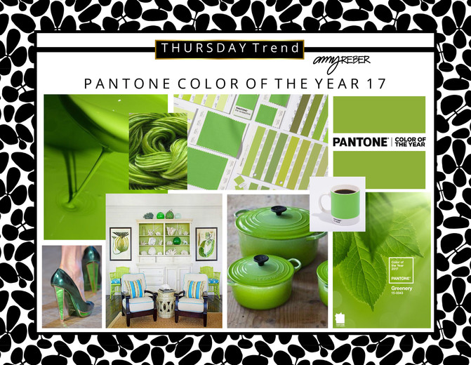 THURSDAY TREND - Pantone Color of the Year - 2017