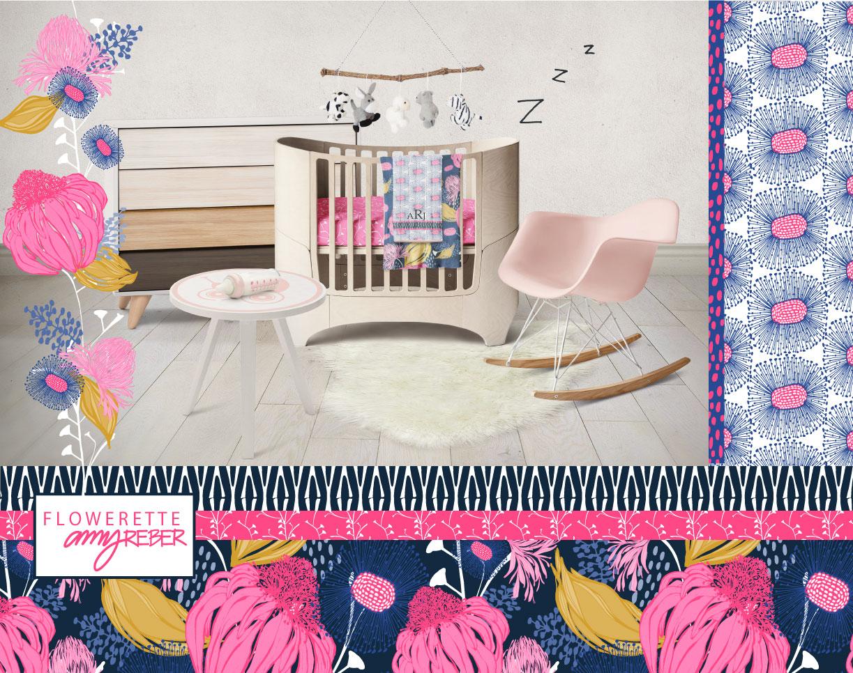 FLOWERETTE BABY ROOM