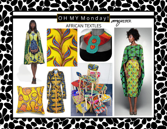 OH MY Monday - African Textiles