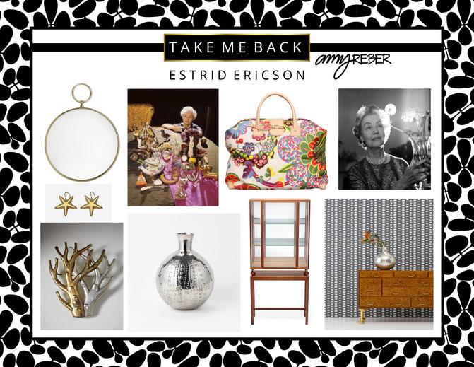 TAKE ME BACK Tuesday - Estrid Ericson