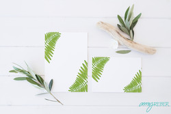 GREEN LEAVE CARDS