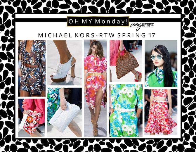 OH MY Monday - Michael Kors RTW Spring 2017