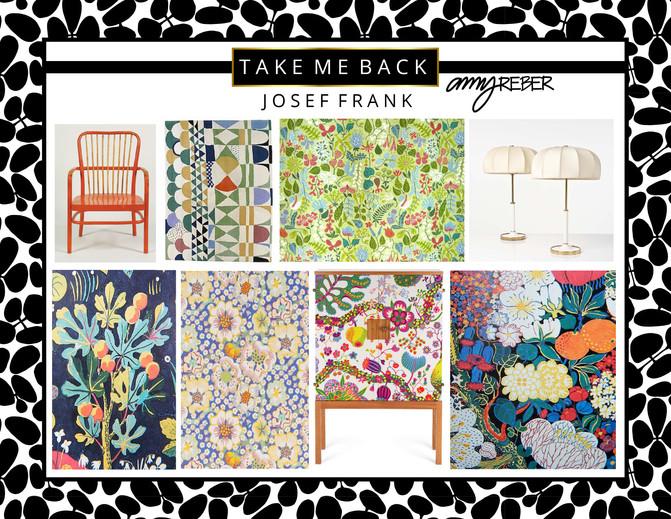 TAKE ME BACK Tuesday - JOSEF FRANK