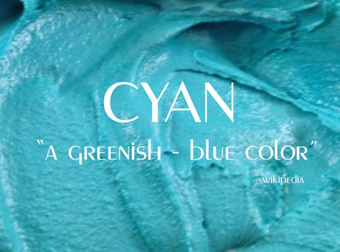 Introducing color of the month!