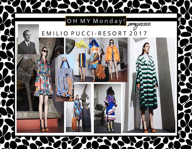 OH  MY  Monday - Emilio Pucci Resort Wear 2017