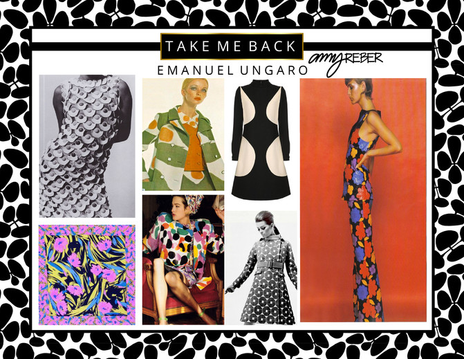 TAKE ME BACK Tuesday - Vintage Emanuel Ungaro
