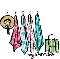 MERMAID BEACH TOWELS