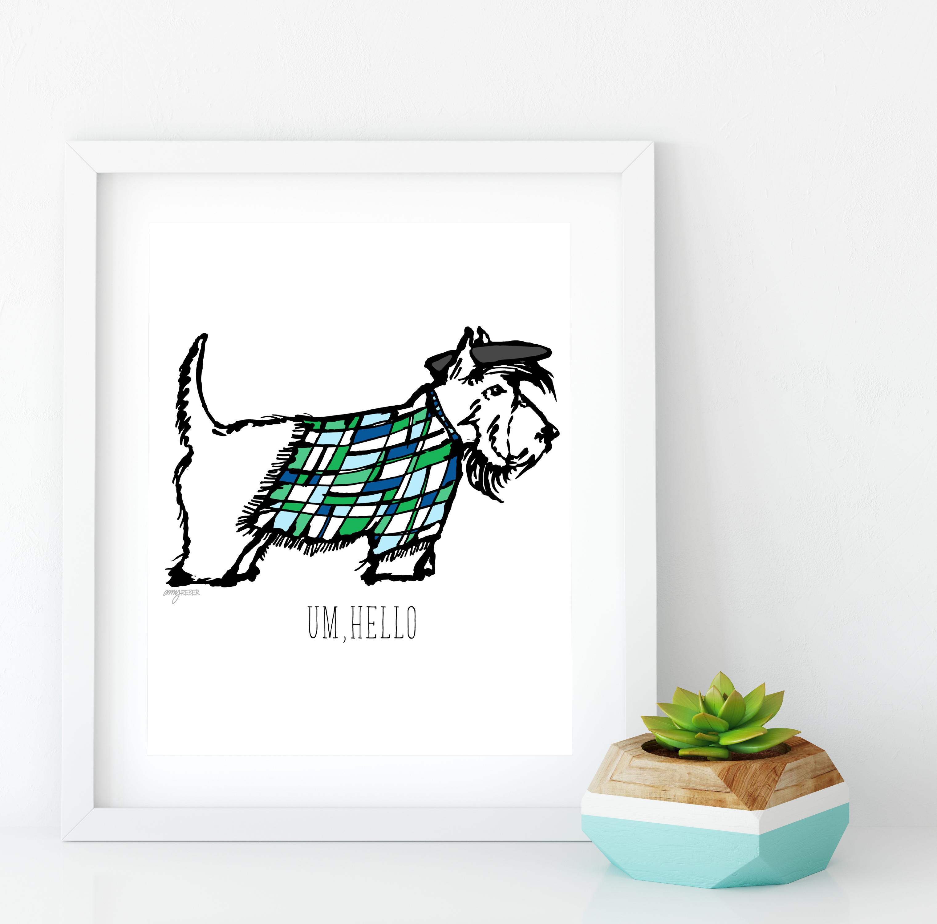terrier print-01