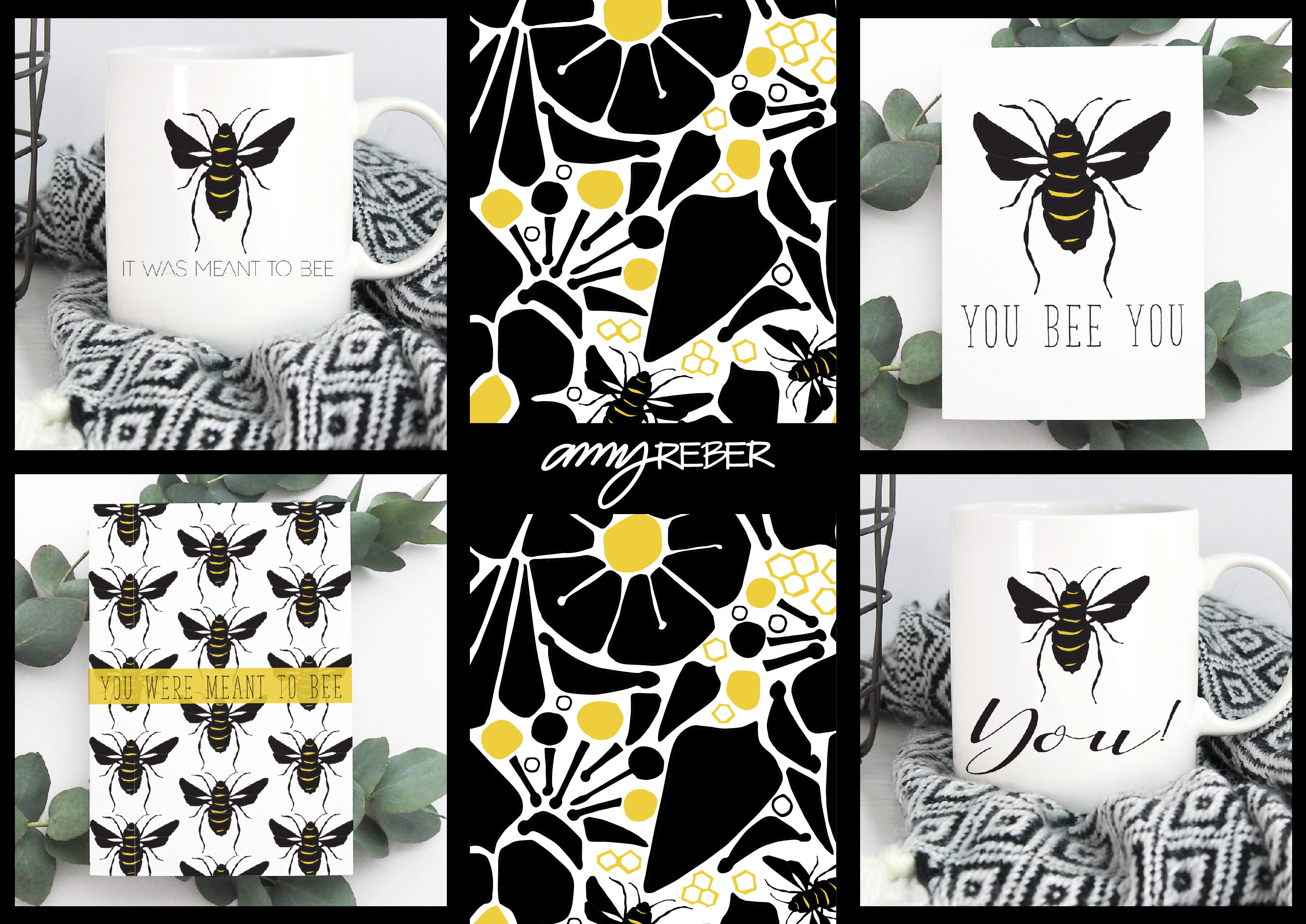 BUMBLE CARDS-AMYREBER