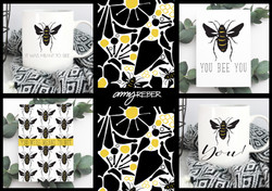 BUMBLE CARDS-AMYREBER