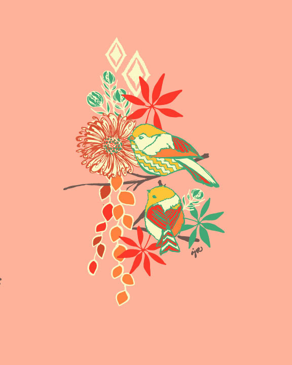 BIRDS.FLORALS.The 60s.ABSTRACT...