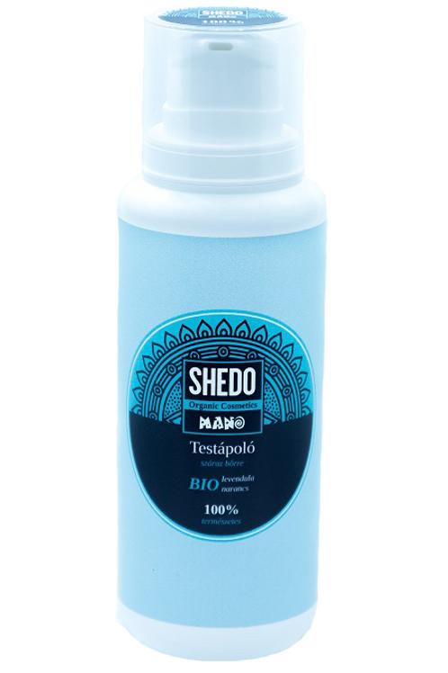 SHEDO Manó Testápoló száraz bőrre levendula-narancs