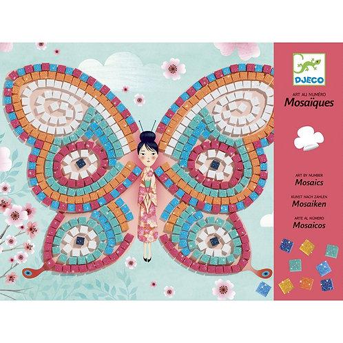 Csodaszép, tündér pillangók mozaikból