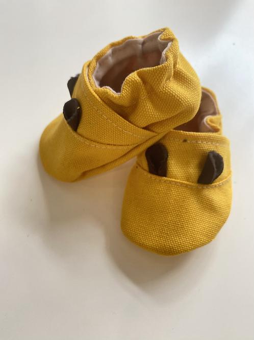 Mustársárga Macitappancs puhatalpú