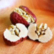 美日春大丸,經過SGS四項檢驗合格,紅棗肉質Q彈厚實,核桃香脆可口。