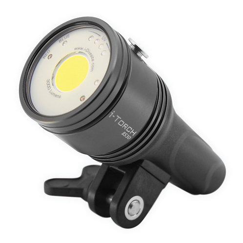 iDivesite Photo/Video Lights - i-Torch Black Star BS-30