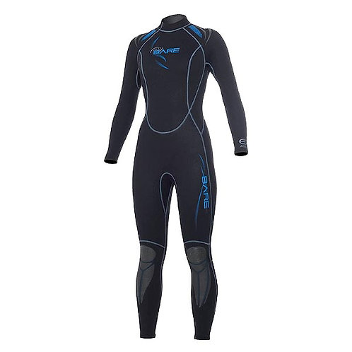 Special Collection - Bare Sport Women Fullsuit 3/2mm Blue
