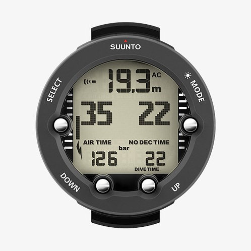 Suunto Dive Computers - Vyper Novo with Boot & USB (Graphite / White)